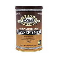 FLAXSEED MEAL BROWN