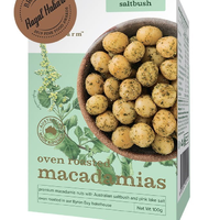 OVEN ROASTED MACADAMIAS SALT BUSH