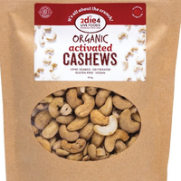 ACTIVATED ORGANIC CASHEWS