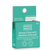 DENTAL FLOSS W ACT CHARCOAL SPEARMINT