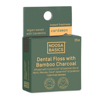 DENTAL FLOSS W/ ACT CHARCOAL CARDAMON